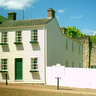 Mark Twain'S Boyhood Home In Hannibal, Missouri.