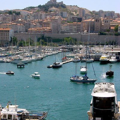 The Harbour Of Marseille