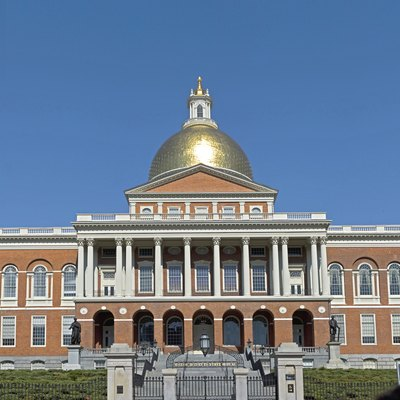 The Massachusetts State-house in Boston, Massachusetts