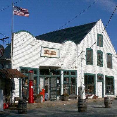The Mast General Store in Valle Crucis.
