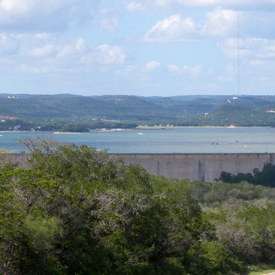 Medina Lake Located In Northeastern Medina County, Texas, United States.