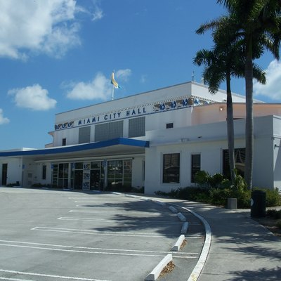 Miami, Florida: Pan American Seaplane Base And Terminal Building: Now Miami'S City Hall.