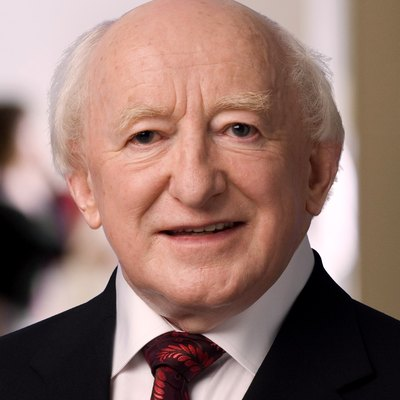Michael D. Higgins, President Of Ireland (2011– ).