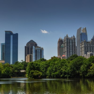 Afternoon In Piedmont Park In Atlanta