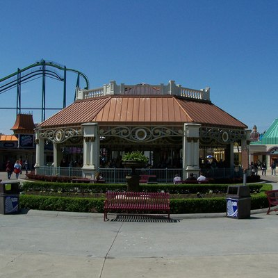 The Midway Carousel at Cedar Point.