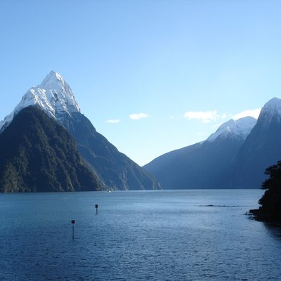 New Zealand's Milford Sound. Milford Sound, one of New Zealand's most famous tourist destinations[59]. Milford Sound, New Zealand. The terminus of SH 94, and the breathtaking view that rewards the weary traveller.