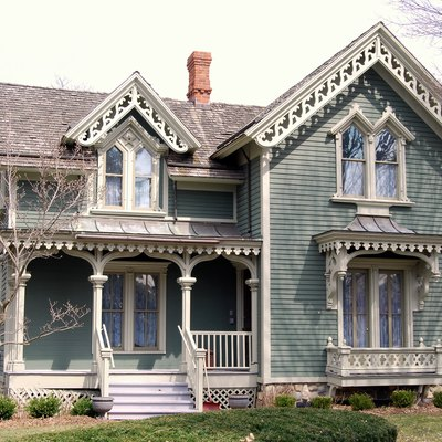 Victorian house — Mill Race Village, Northville, Michigan.