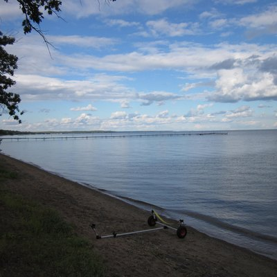 Mille Lacs Lake In The Us State Of Minnesota.