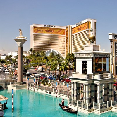 The Mirage viewed from the Venetian.