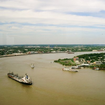 Mississippi River - New Orleans (Louisiana) self made PRA