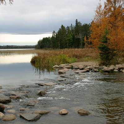 Headwaters of the Mississippi River in Itasca State Park