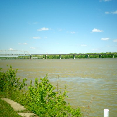 The Mississippi River at Hannibal, Missouri