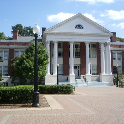 This is a photgraph taken by myself of Monroe Hall at the University of Mary Washington