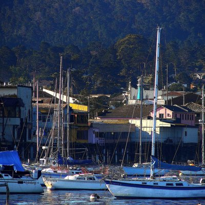 Monterey Harbor and Fisherman's Wharf, Monterey, CA