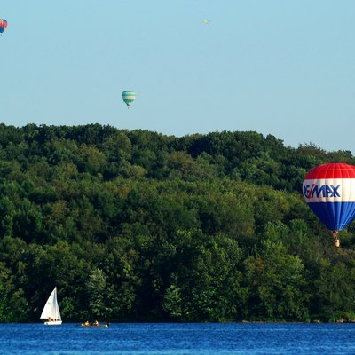 Regatta and Hot Air Balloon Festival at Moraine State Park