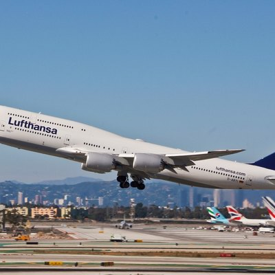 Boeing, Airplanes, 747, LAX,