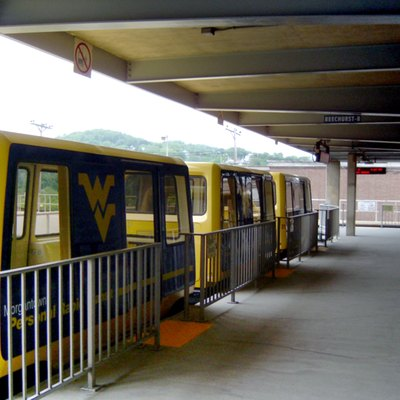 Beechurst Station of Morgantown PRT.
