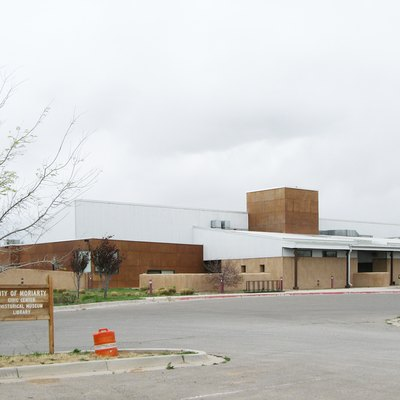 Civic Center in Moriarty, New Mexico; houses the public library and a history museum.