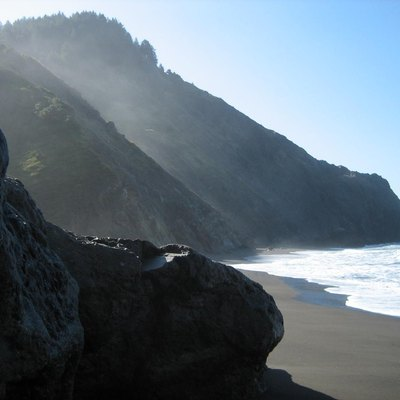 The Lost Coast is a section of California's north coast in Humboldt County.