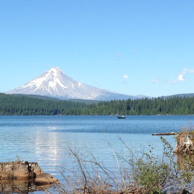 Mt. Hood from Timothy Lake.