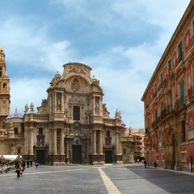 Murcia Cathedral Of Santa Maria