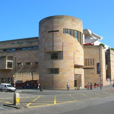 The Museum of Scotland in Edinburgh.