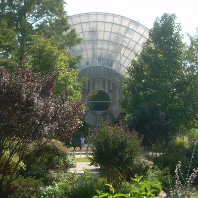 Myriad Botanical Gardens downtown Oklahoma City.