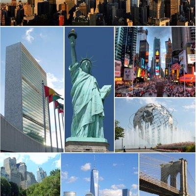 Montage of New York City