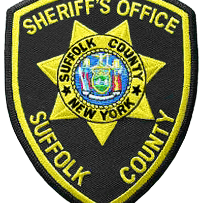 Image is similar if not identical to the shoulder patch of the Suffolk County Sheriff's Office, New York. Made with Photoshop.