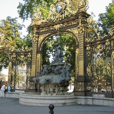 Fountain of Amphitrite at Place Stanislas in Nancy, France