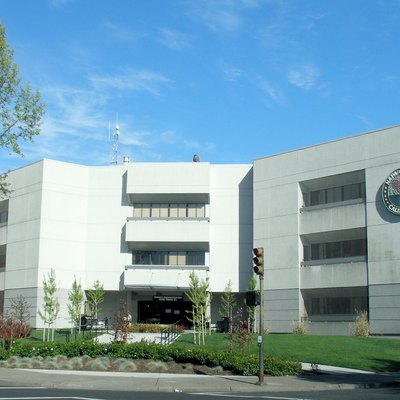 The County Administration Building for Napa County, located in downtown Napa.