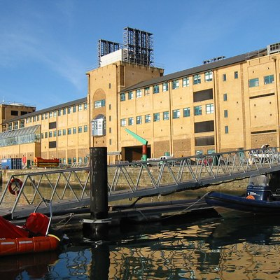 National Oceanography Centre Southampton as seen from the water side