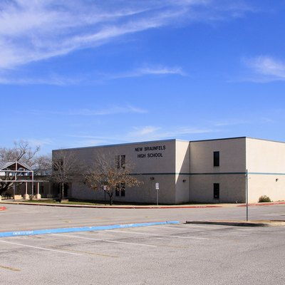 New Braunfels High School In New Braunfels, Texas, United States.