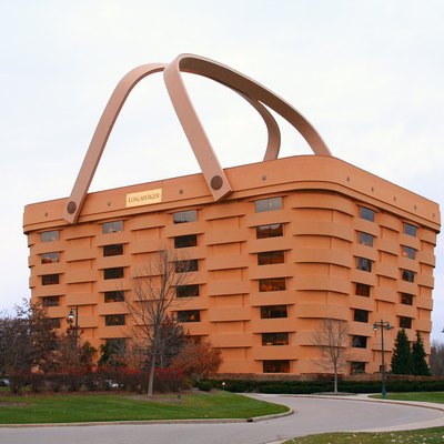 Longaberger Headquarters In Newark, Ohio.
