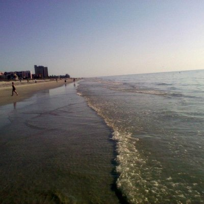 Nice calm day at Indian Rocks Beach FL in March 2013