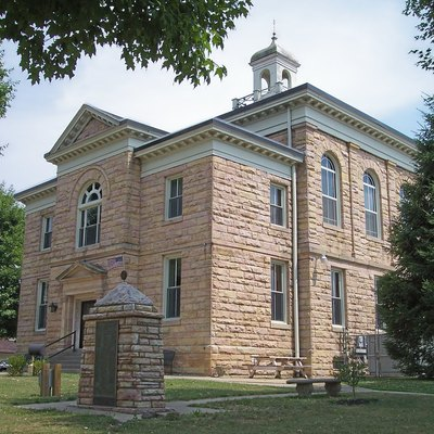 The Nicholas County Courthouse in w:Summersville, West Virginia.