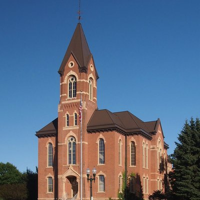 Nicollet County Courthouse in St. Peter