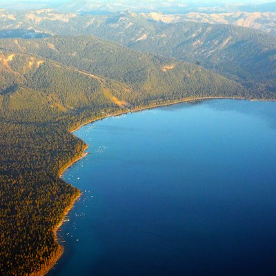 North Lake Tahoe Aerial photo D Ramey Logan