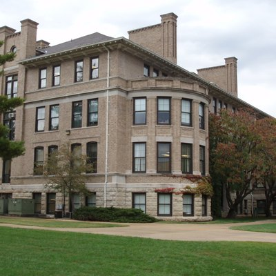 Photo Of Norwood Hall From The Southwest, On The Missouri S&Amp;T Campus In Rolla, Missouri; October 17, 2008