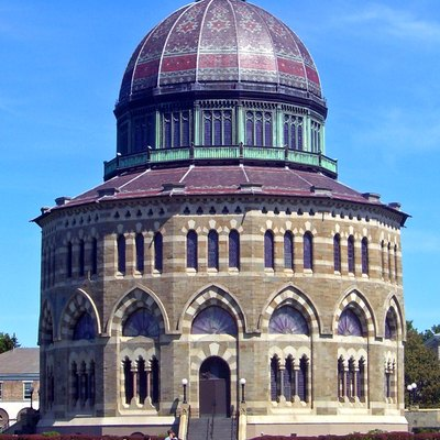 Nott Memorial Hall, On Campus Of Union College, Schenectady, New York, United States