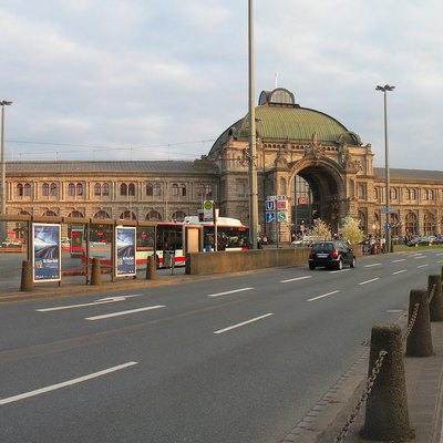 Nuremberg.Central railway station.