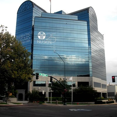 NuSkin Building on Center Street in downtown Provo, Utah