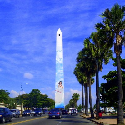 Obelisk in Santo Domingo, Dominican Republic.
