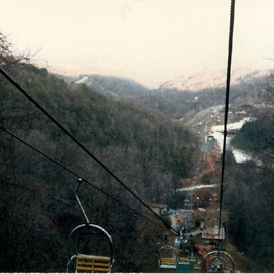 Chairlift, Ober Gatlinburg, Tennessee