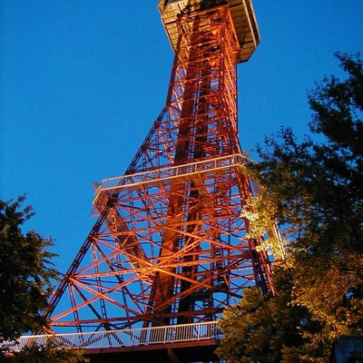 'Oil Derrick' observation tower at Six Flags over Texas amusement park in Arlington, Texas.