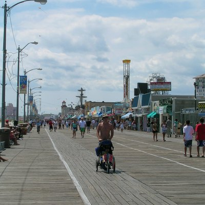 Boardwalk at Ocean City, New Jersey