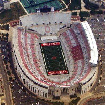 Ohio Stadium, Home Of The Ohio State Buckeyes Football Team.