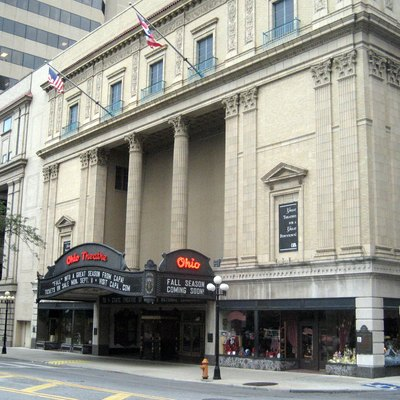 The Ohio Theatre in Columbus, Ohio. Photo obtained from flickr.com taken by user wallyg.
