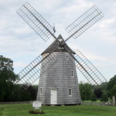 Hook Wimdmill Is A Historic Windmill On North Main Street In East Hampton, New York. It Was Built In 1806 And Operated Regularly Until 1908. One Of The Most Complete Of The Extant Windmills On Long Island, New York, In 1922 The Windmill Was Sold To The Town Of East Hampton. The Building Was Added To The National Register Of Historic Places In 1978.