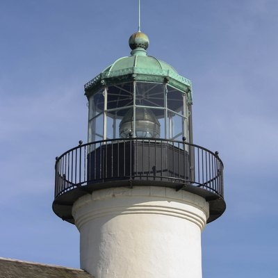 Old Point Loma Lighthouse, San Diego County, California